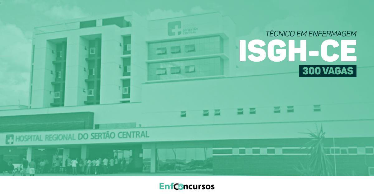 Resultado de imagem para Ceará abre 300 vagas para técnico de enfermagem; confira edital